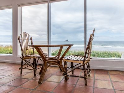 Photo for Oceanfront, dog-friendly home with fantastic ocean views