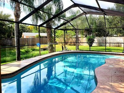 Photo for PRIVATE HOUSE WITH A HEATED SALT POOL - NEAR CLEARWATER