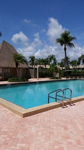 Heated Pool and Open Air Clubhouse