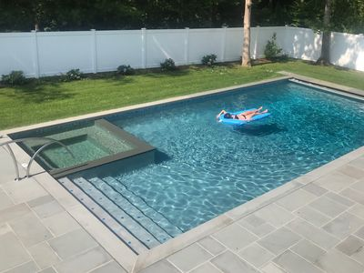 Photo for Great for Families, Modern, New Saltwater Pool, Westhampton Beach