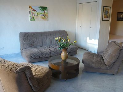 Photo for Apartment in the center of Sainte-Maxime with Lift, Internet, Air conditioning, Balcony (108757)