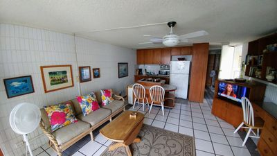 Photo for Economical but cute studio, in serene environment, w/ beach/ocean view;