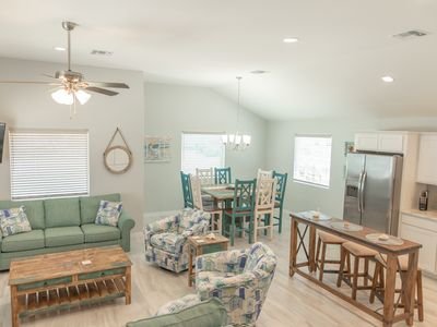 Photo for Always Beachin: Free Golf Cart, Charcoal Grill, Pet Friendly, Fenced Yard