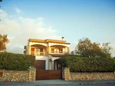 Photo for VILLA WITH SWIMMING POOL AND VIEWS OF THE SEA AND THE CABRERA  ISLAND