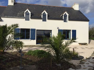 Photo for Holiday home 8 people quiet MOELAN SEA