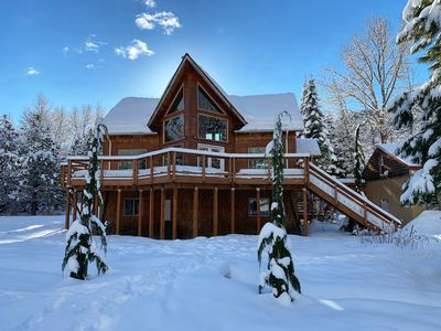 Photo for Beautiful Chalet with a Picturesque View of Nason Ridge