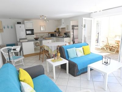 Photo for South Oléron, quiet house PATIO and GARDEN closed, close sea and trade