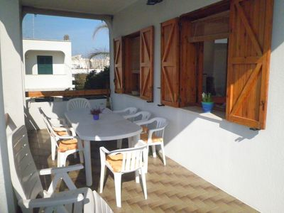 Photo for Torre dell'Orso, Wi Fi, terrace, garden, parking space, 150 m from the beach