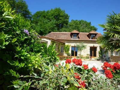 Photo for Beautiful Cottage With Panoramic Countryside Views, 5 mins drive to Hautefort