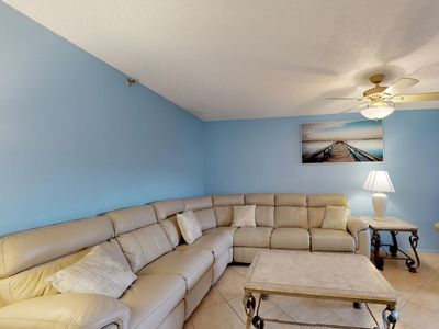 Photo for NEW LISTING! Waterfront condo w/updated amenities plus shared pool, hot tub
