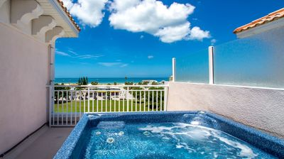 Photo for Luxury, Family Friendly Townhome - Rooftop Hot Tub Featuring Amazing Beach Views