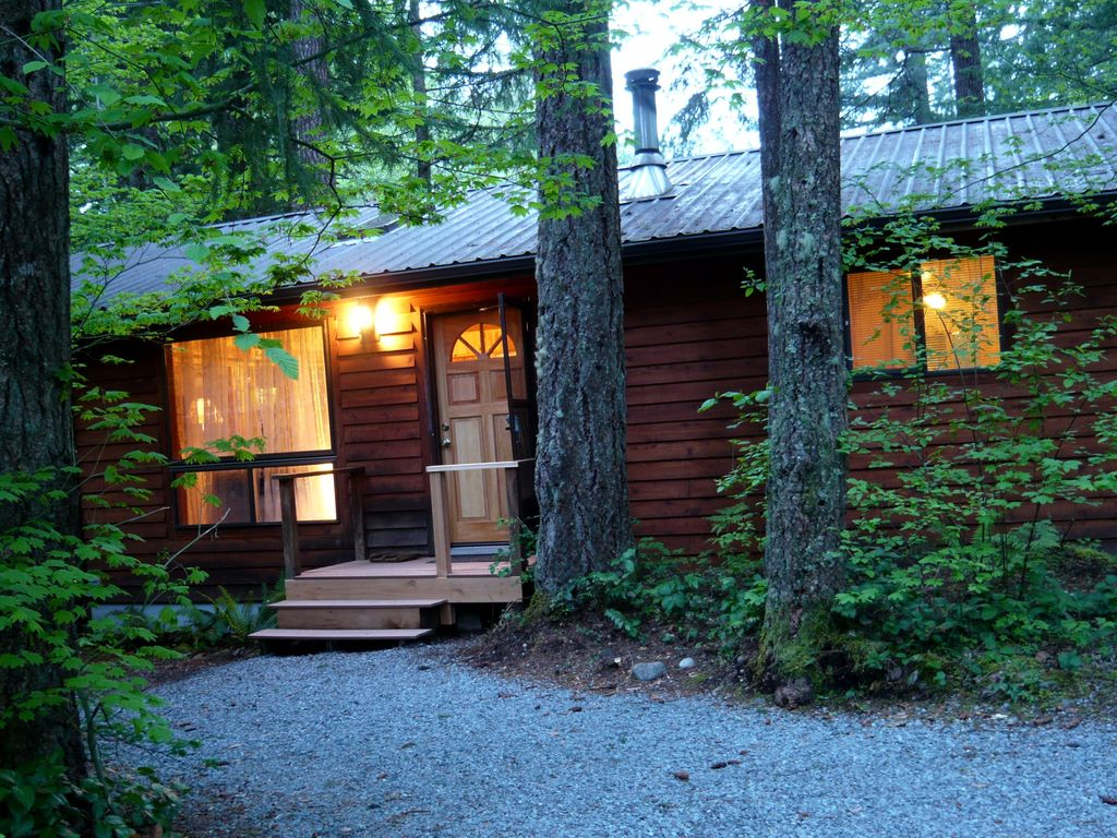 Cabine in paradise estates mount rainier 4 personen for Cabine vicino a mt ranier