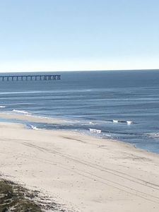 Our beach is never crowded and within walking distance of the Pier (of Pier Park