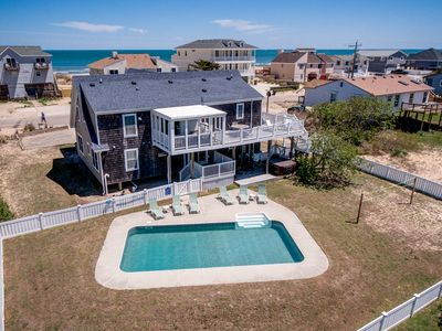 Photo for Starfish Inn | 285 ft from the beach | Private Pool, Hot Tub