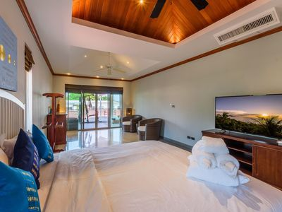 Photo for luxury Thai style pool villa Phuket