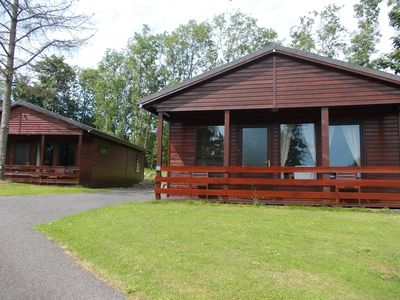 Photo for Birch Lodge 20 with Hot Tub, Newton Stewart