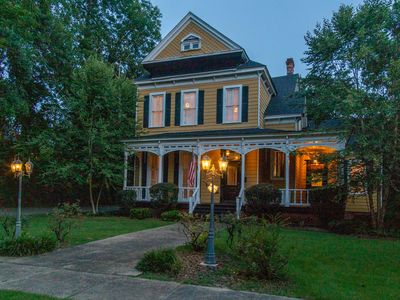 Photo for ⭐️Historic Mansion with Modern Tiny home! Sleeps 14! Pet Friendly!  ⭐️