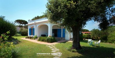 Photo for La Capricciosa, holiday house with sea views, 50m from the beach,