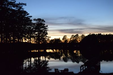 Sunset with 210 of waterfront property
