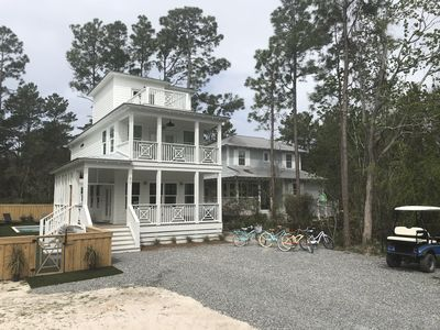 Photo for SOUTH of 30-A LAKE & BEACH *PRIVATE POOL*  2 Golf Carts