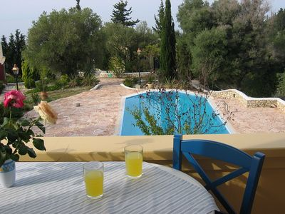 Photo for Arina Apartment - Cozy One Bedroom Apartment with Air Conditioning, Large Shared Pool, only 800 Meters to Agios Nikitas Beach and Village ! FREE WiFi