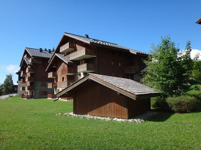 Photo for Luxury Alpine Apartment Close to Family Friendly Centre of Les Carroz
