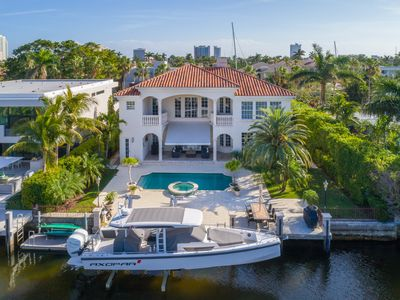 Photo for Mediterranean Mansion just a walk away from Fort Lauderdale Beach and Las Olas