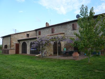 Photo for 1BR Apartment Vacation Rental in Guardistallo, Toscana