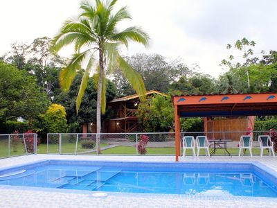 Photo for Margarita Garden House with pool, AC - House for 6 people in Cocles