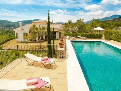 Photo for Wonderful private villa for 12 guests with private pool, WIFI, A/C, TV, balcony and parking