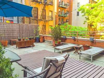 Photo for INCREDIBLE 2br with HUGE PRIVATE TERRACE in Elev Bldg! Perfect Location!!!