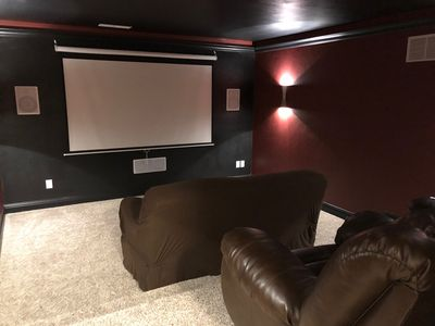 Photo for 5bed/3bath custom family reunion home, theater room
