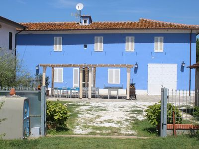 Photo for TUSCAN FARMHOUSE WITH POOL 4 to 15 beds, 6000sqm FENCED GARDEN