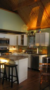 Modern, convenient kitchen allows you to fix great meals for making memories!