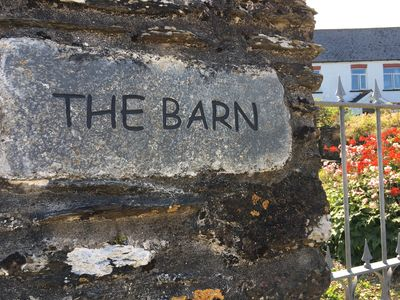 Photo for The Barn, Sleeps 7, Set in a tranquil location with far reaching sea views