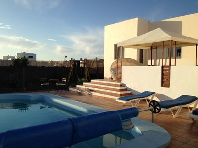 Photo for 4 Bed Villa with Private Pool and South Facing Terrace 20 min walk to Beach/Town