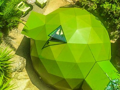 Photo for Geodesic Dome Ecoart, CUPULA WOODEN SEA