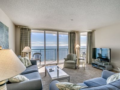 Photo for Fantastic 3 Bedroom Oceanfront Windy Hill Dunes Condo, 1503
