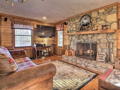 Photo for NEW! Family Cabin w/ Pool & Hot Tub by Fairy Stone