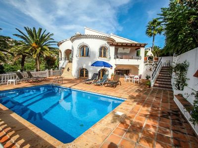 Photo for San Jaime-19M - sea view villa with private pool in Moraira