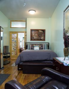 Photo for Beautiful One Bedroom Apartment in Classic Brownstone in Harlem, New York City
