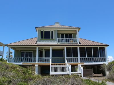 Photo for Beachfront 6 bedrooms 7.5 baths kayaks SUP boards
