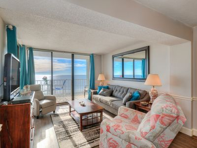 Photo for Ocean Front 4th Floor Condo  - New on Market!
