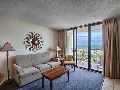 Photo for Oceanfront Queen Suite w/ Private Balcony + Official On-Site Rental Privileges