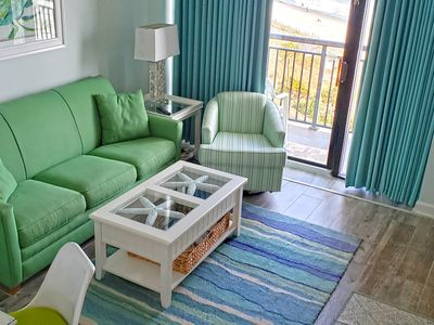 Photo for Renovated 2018 Ocean Front w/ Sunrise Views FREE WIFI.LazyRiver.TikiBar.Pool