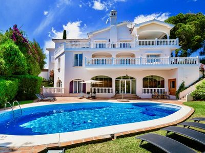 Photo for Melissa - Exceptional 8BR Villa in Marbella, 2 km the Beach, Heated Pool, Wifi