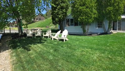 Photo for Charming new lakefront rental with beautiful sunsets on the east side of Keuka