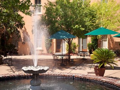 Photo for Lodge Alley Inn, Loft Unit in Courtyard. Great Location in the Historic District