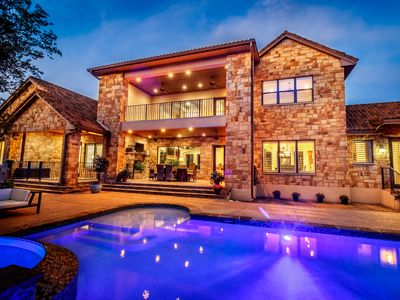 Photo for Stunning Mediterranean Home Away From Home w/Pool-Perfect San Antonio Location!
