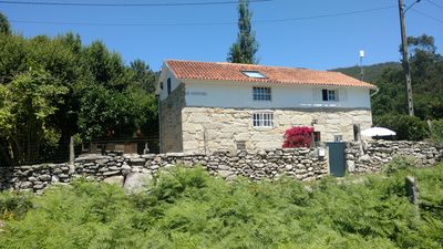 Photo for Secluded, lovely stone country house.